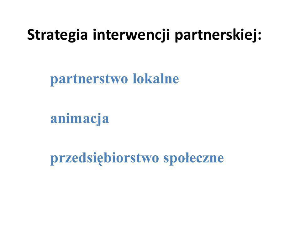 Strategia interwencji partnerskiej: