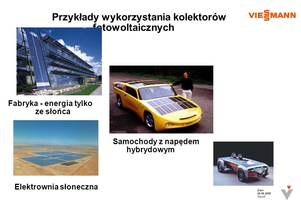 Przykłady wykorzystania kolektorów fotowoltaicznych