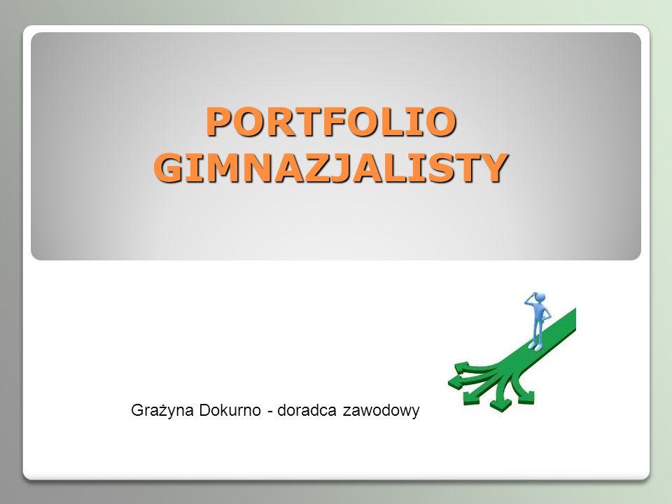 PORTFOLIO GIMNAZJALISTY