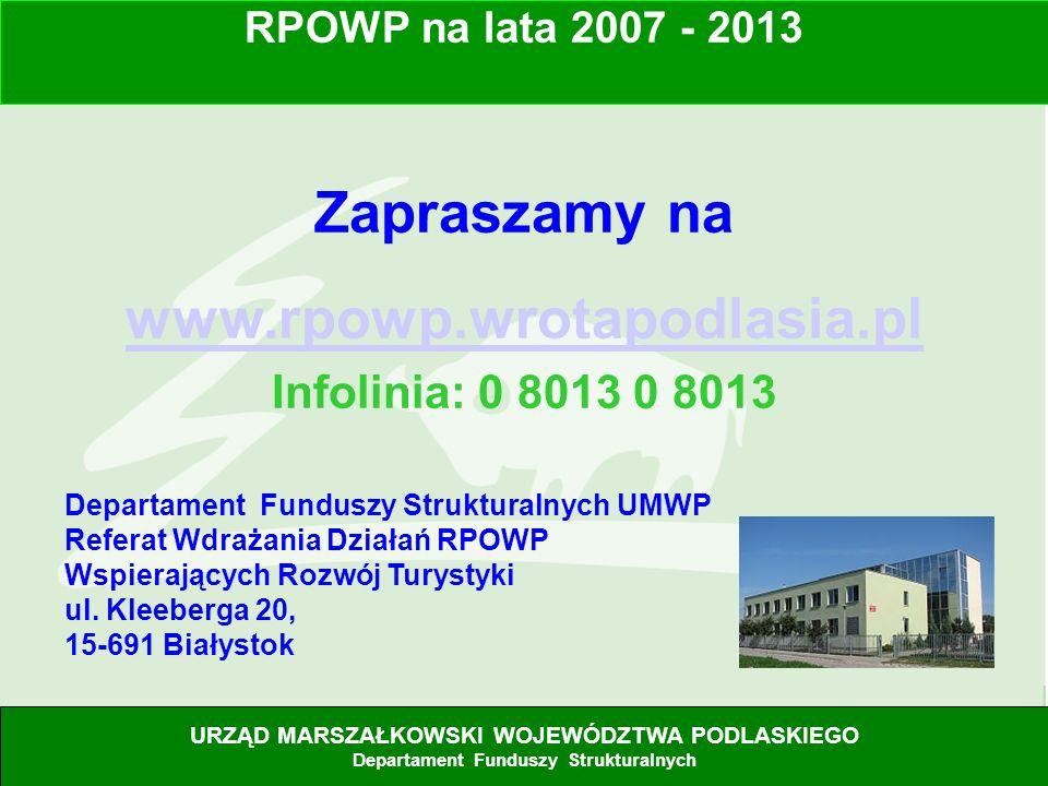 Zapraszamy na www.rpowp.wrotapodlasia.pl