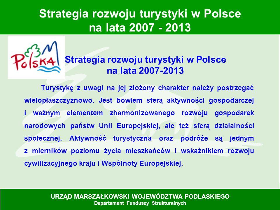 Strategia rozwoju turystyki w Polsce na lata 2007-2013