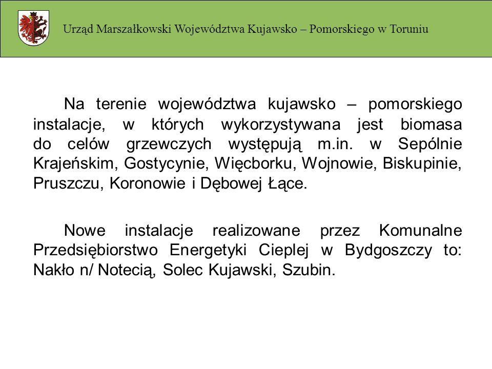 Urząd Marszałkowski Województwa Kujawsko – Pomorskiego w Toruniu