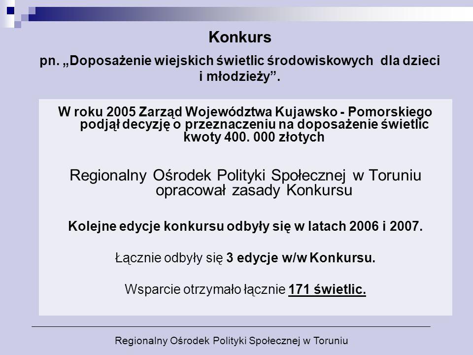 Kolejne edycje konkursu odbyły się w latach 2006 i 2007.