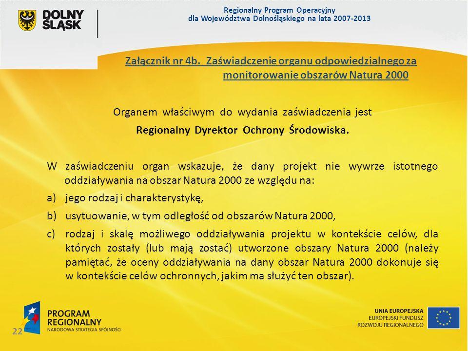 Regionalny Dyrektor Ochrony Środowiska.