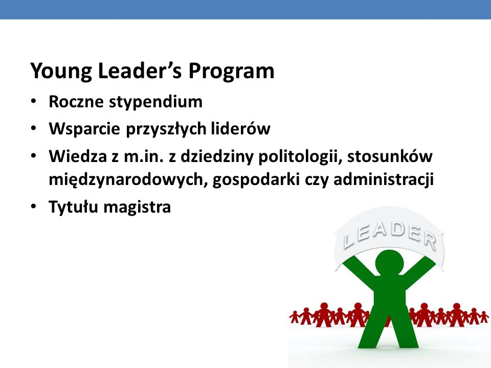Young Leader's Program