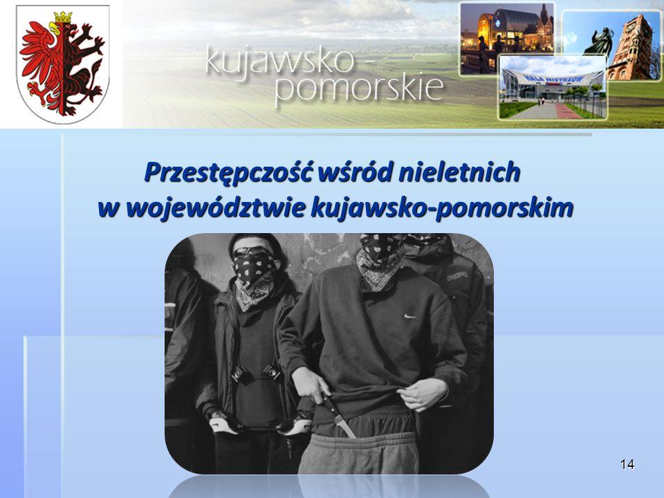 Przestępczość wśród nieletnich w województwie kujawsko-pomorskim