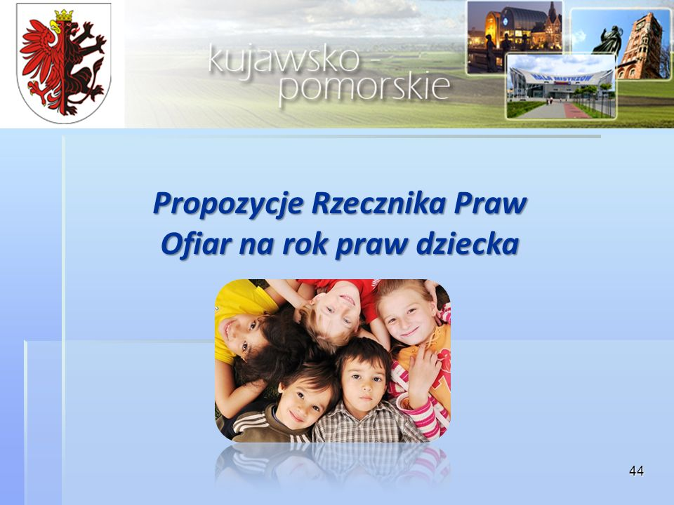Propozycje Rzecznika Praw Ofiar na rok praw dziecka