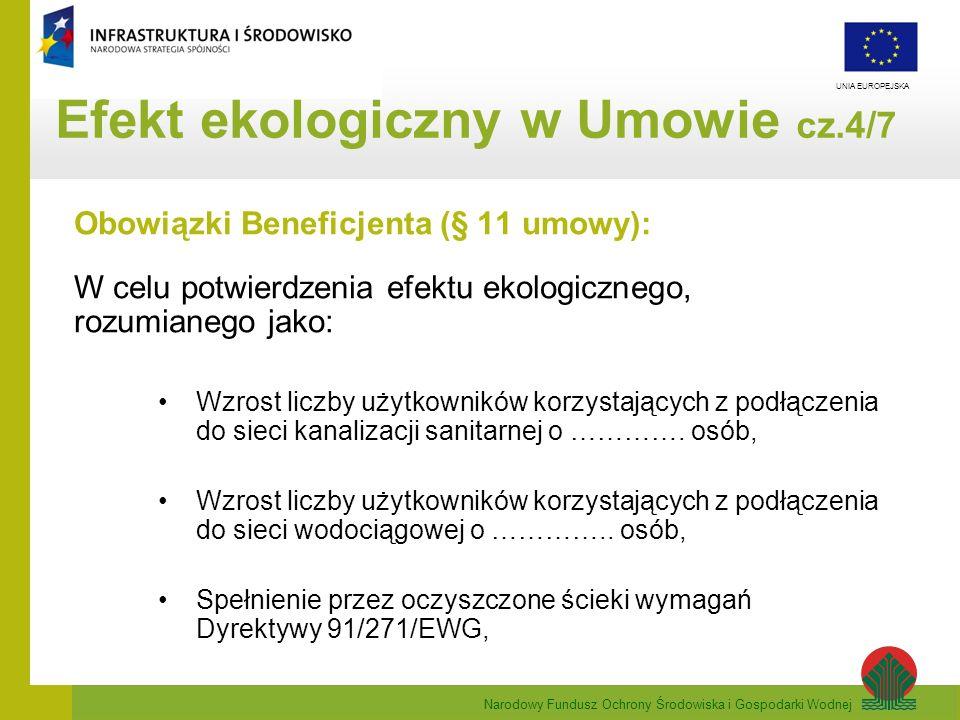 Efekt ekologiczny w Umowie cz.4/7