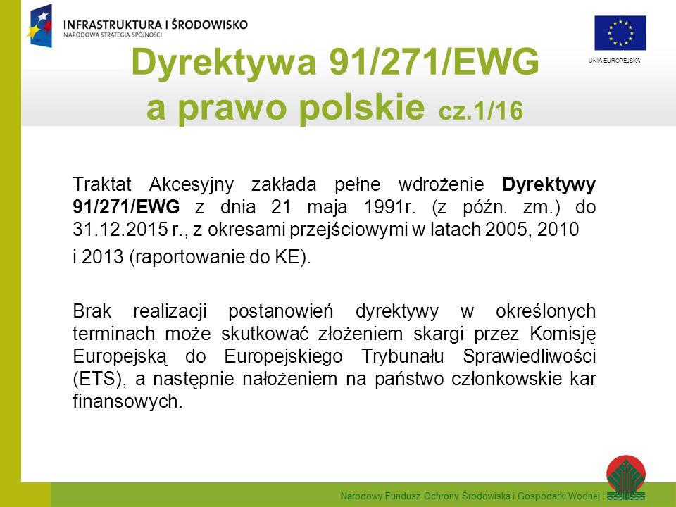 Dyrektywa 91/271/EWG a prawo polskie cz.1/16