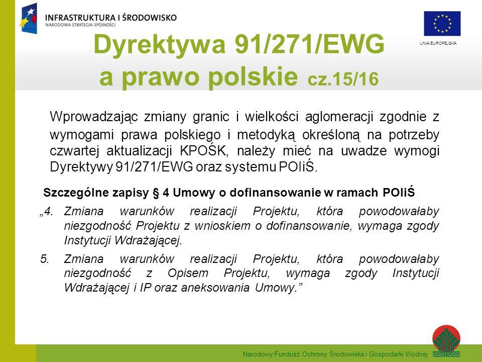 Dyrektywa 91/271/EWG a prawo polskie cz.15/16