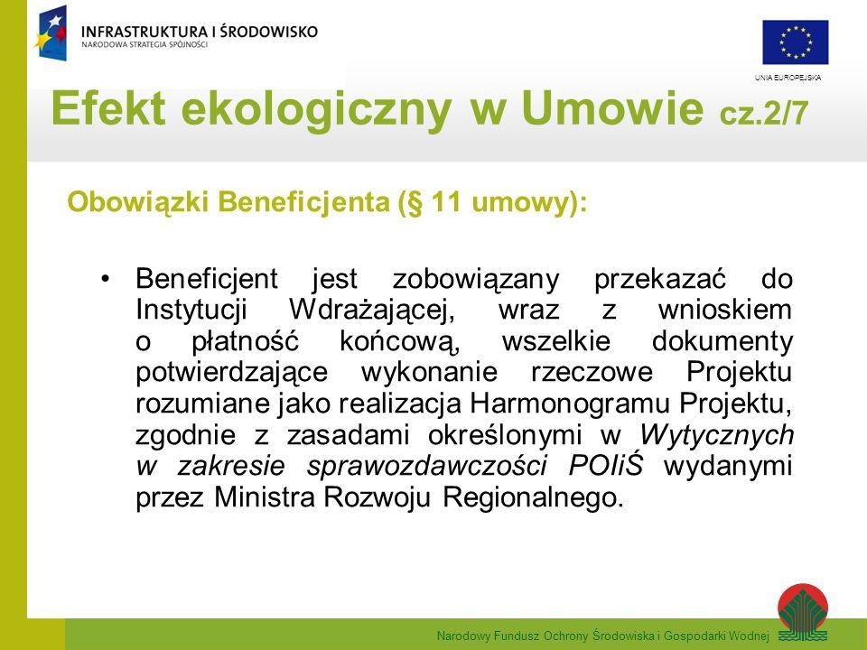 Efekt ekologiczny w Umowie cz.2/7