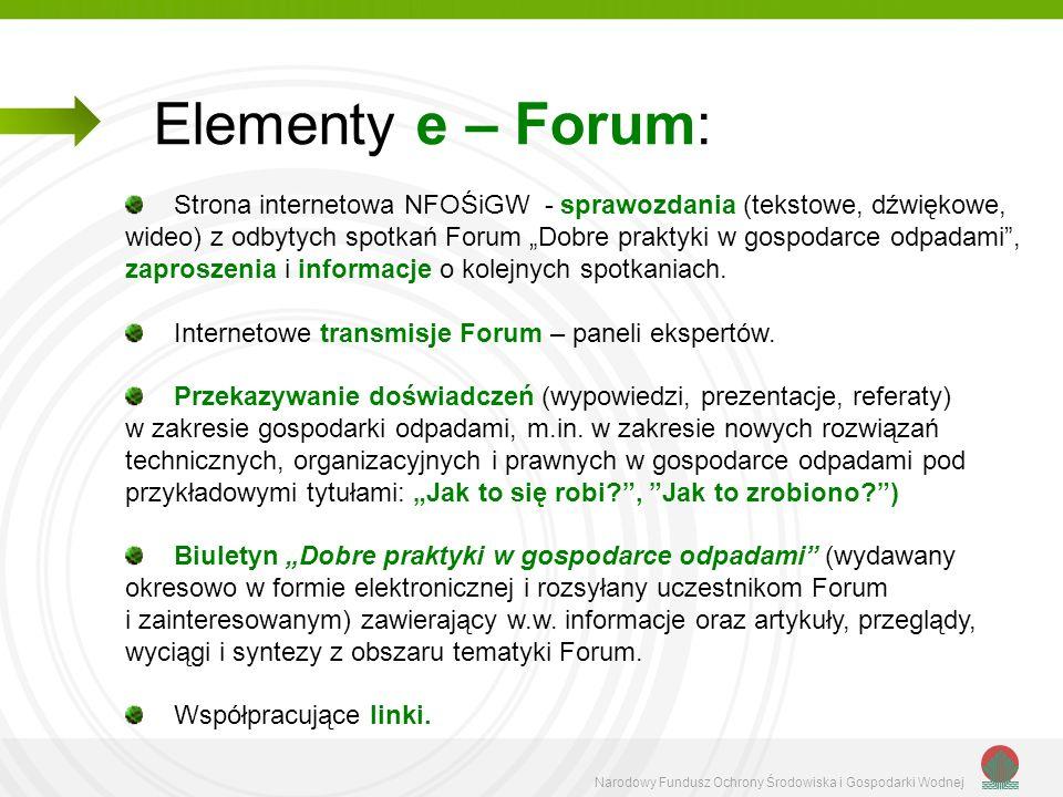 Elementy e – Forum: