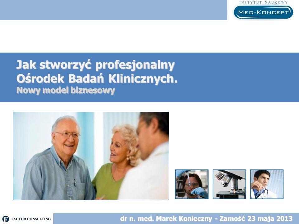 Jak stworzyć profesjonalny Ośrodek Badań Klinicznych