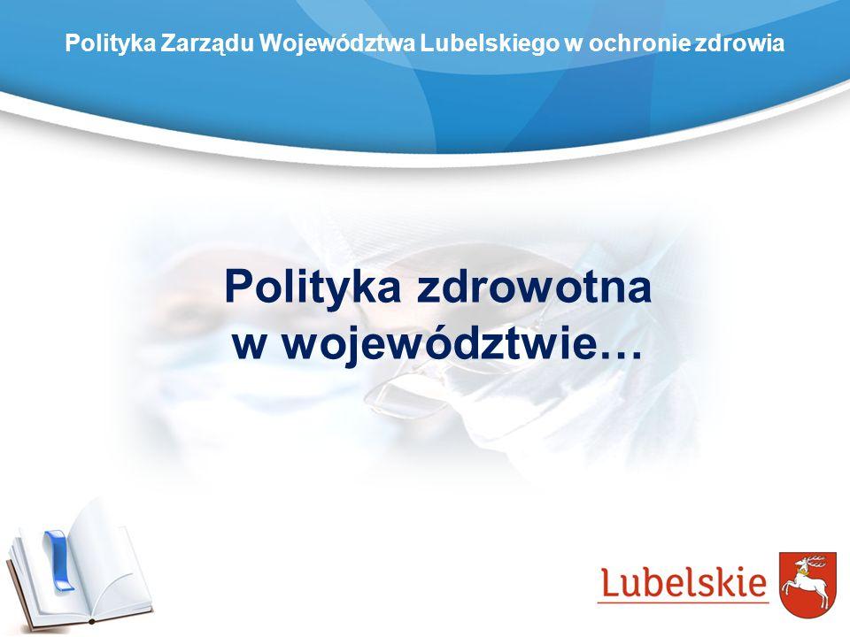 Polityka zdrowotna w województwie…