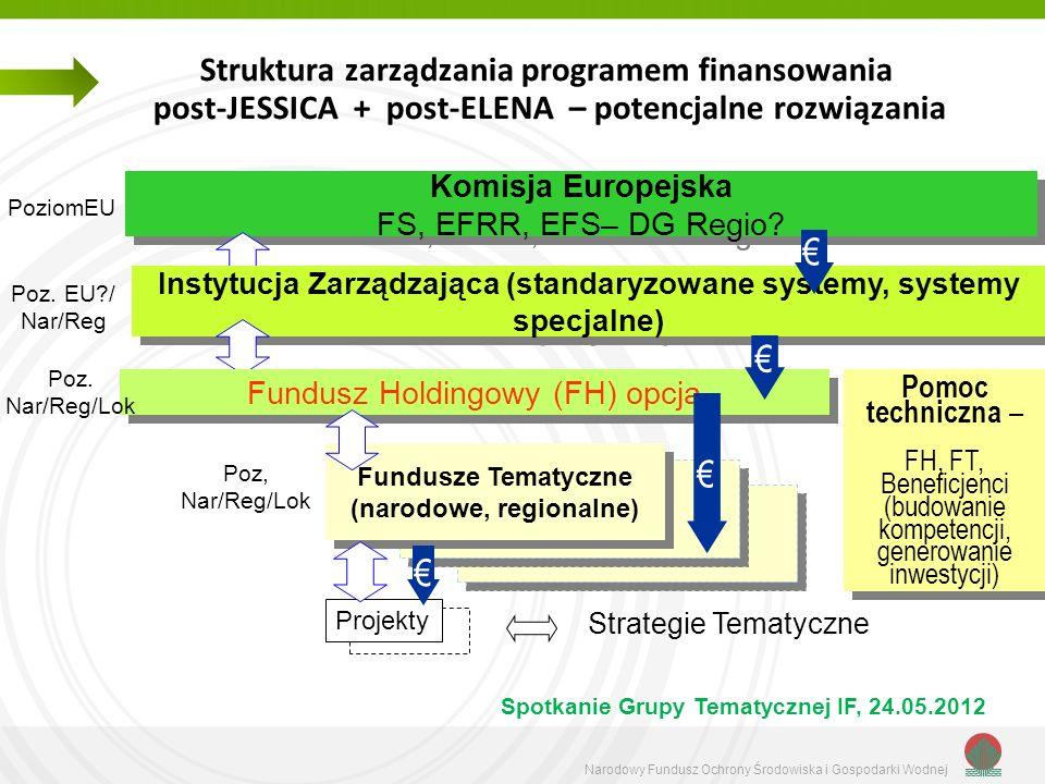 Struktura zarządzania programem finansowania post-JESSICA + post-ELENA – potencjalne rozwiązania