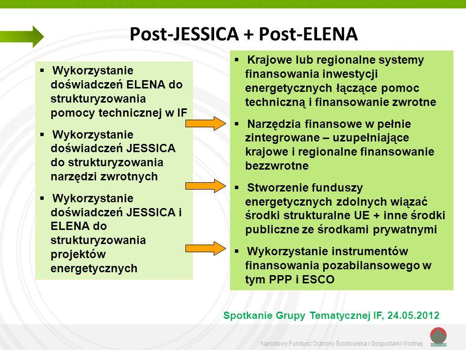 Post-JESSICA + Post-ELENA
