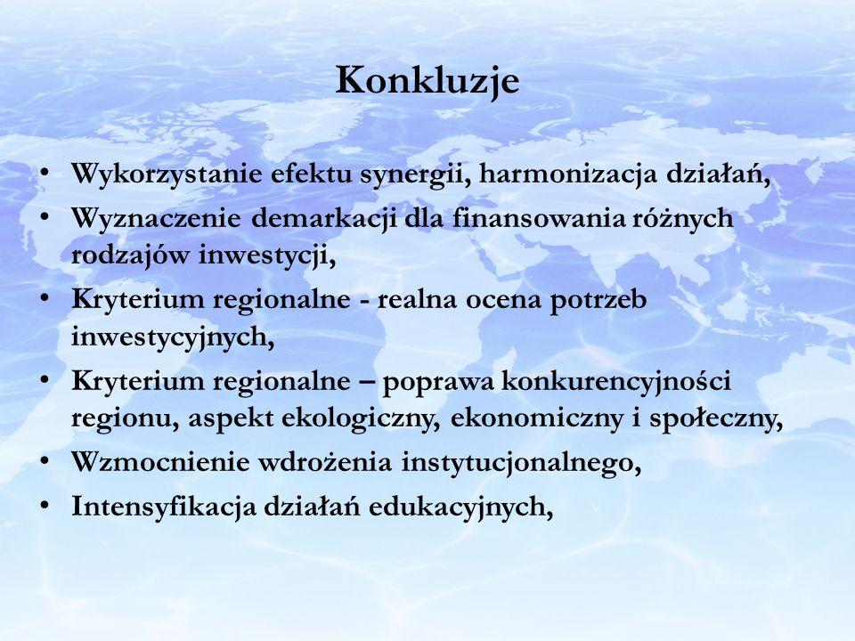 Konkluzje Wykorzystanie efektu synergii, harmonizacja działań,