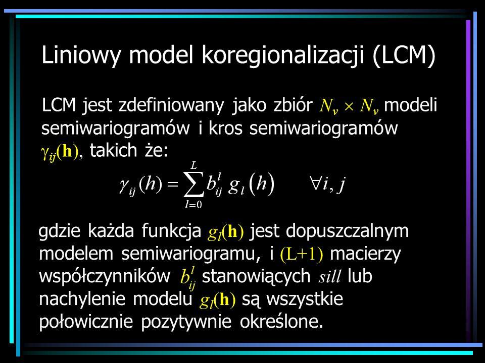 Liniowy model koregionalizacji (LCM)
