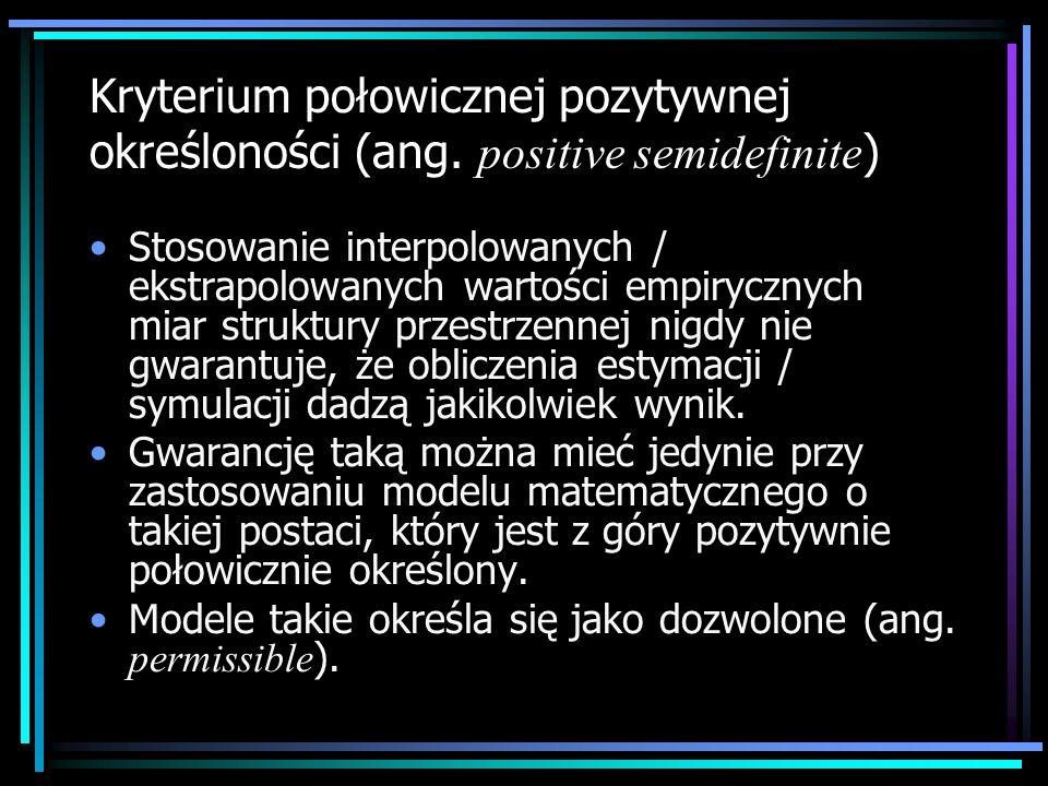 Kryterium połowicznej pozytywnej określoności (ang