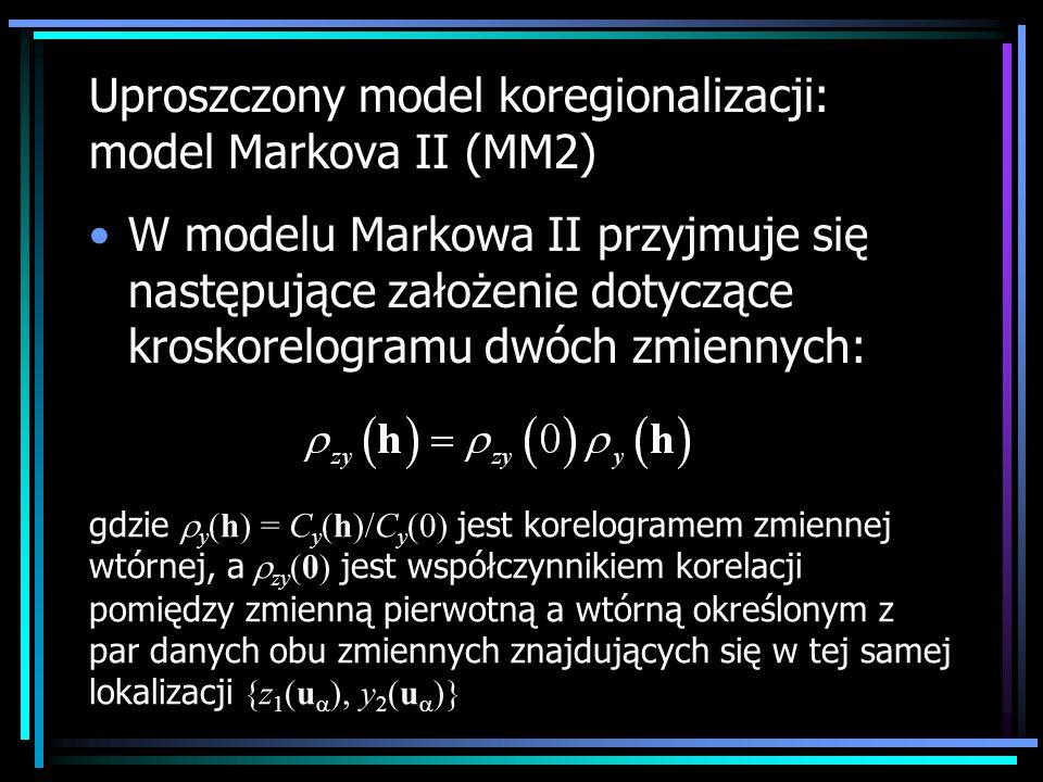 Uproszczony model koregionalizacji: model Markova II (MM2)