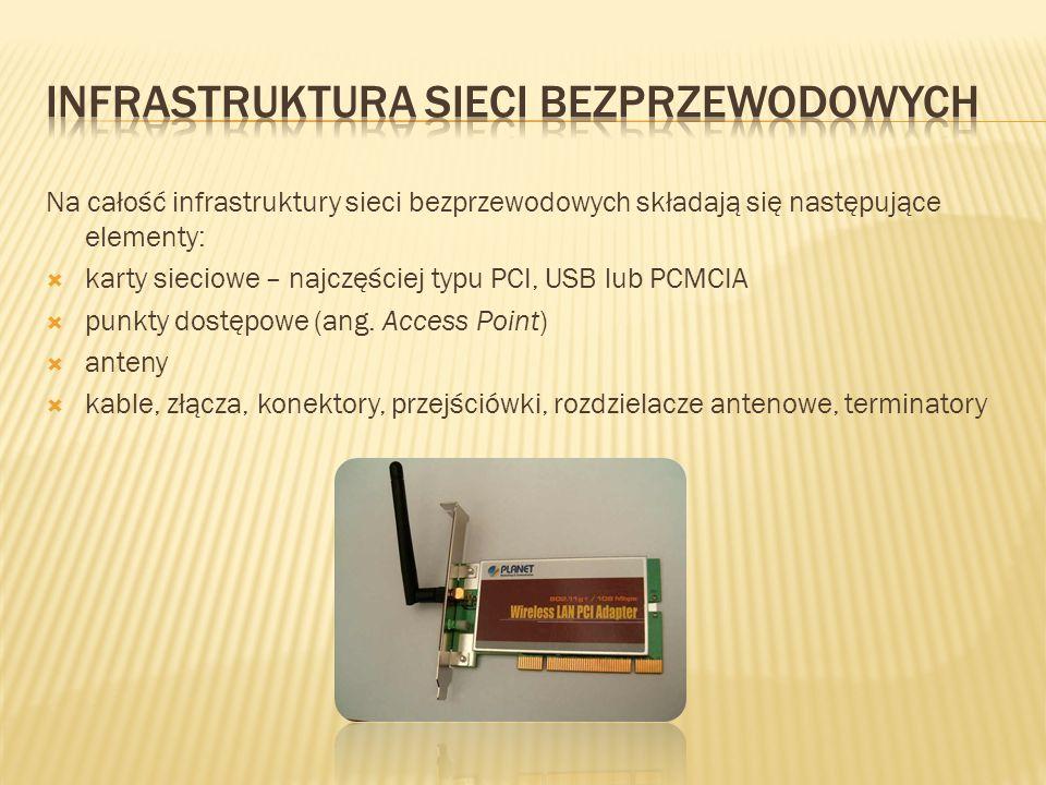 Infrastruktura sieci bezprzewodowych