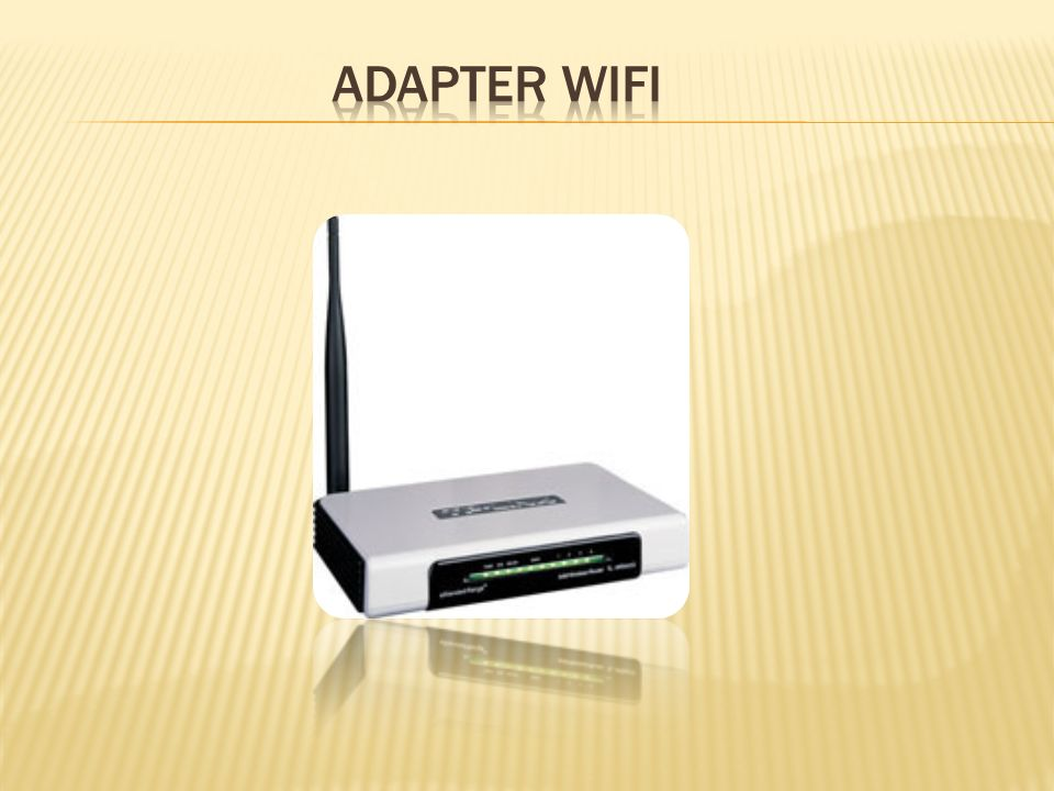 Adapter WiFi
