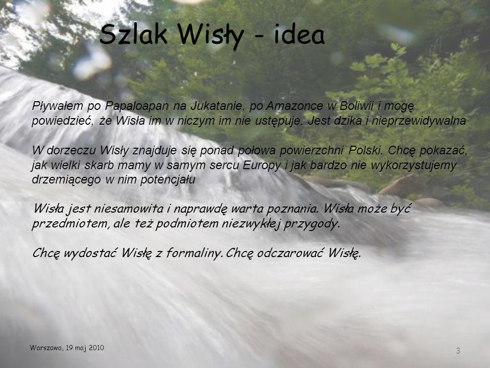 Szlak Wisły - idea