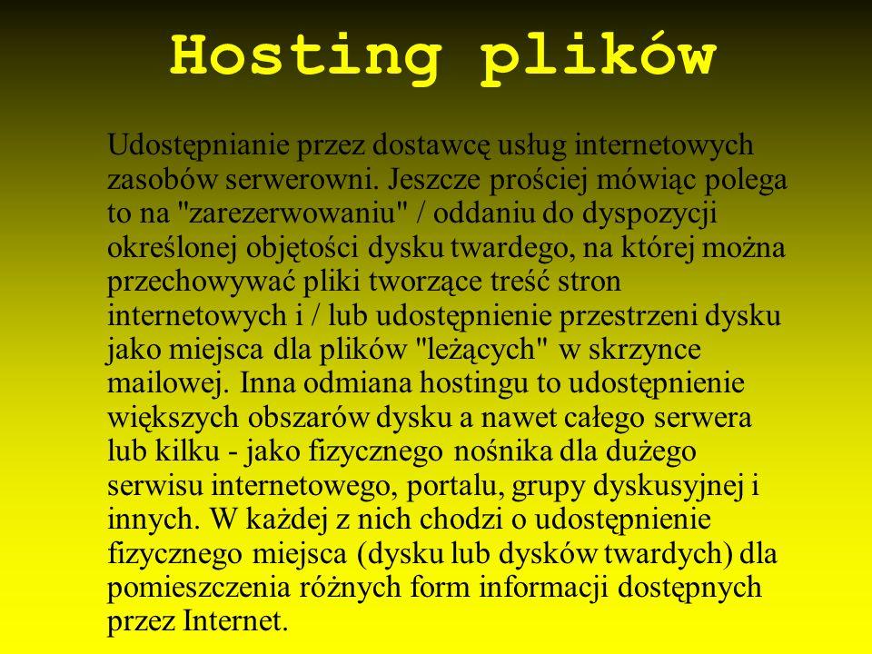 Hosting plików