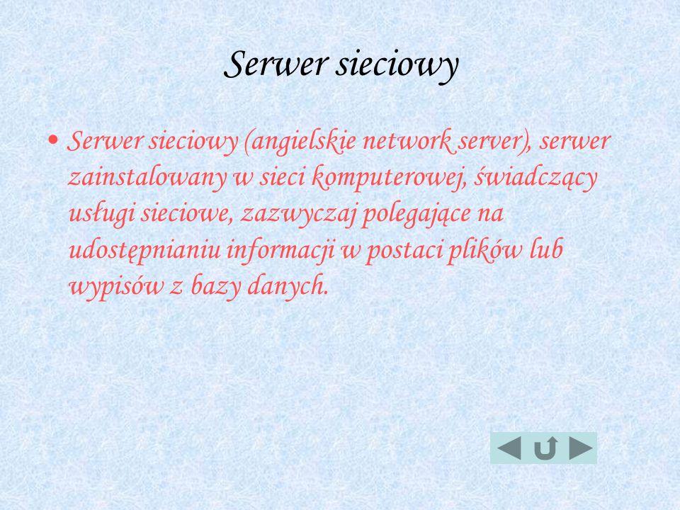 Serwer sieciowy