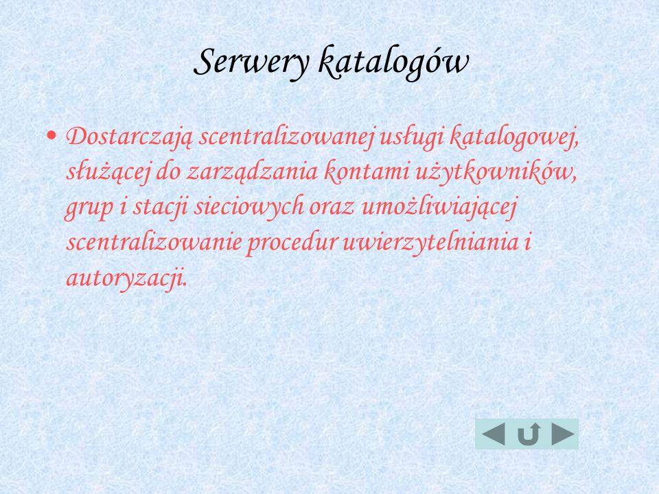 Serwery katalogów