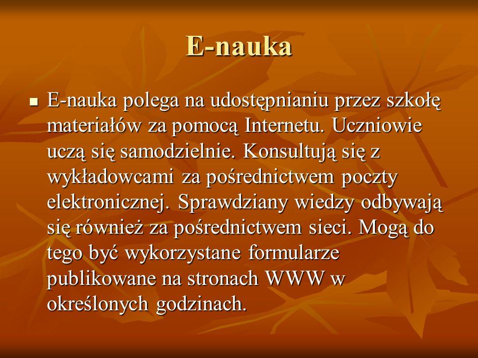 E-nauka