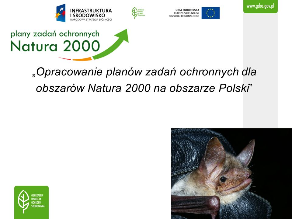 """""""Opracowanie planów zadań ochronnych dla obszarów Natura 2000 na obszarze Polski"""