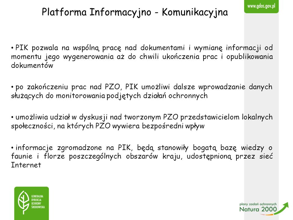 Platforma Informacyjno - Komunikacyjna