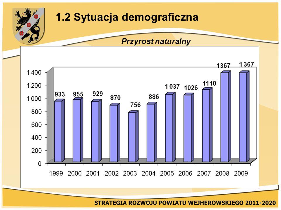 1.2 Sytuacja demograficzna