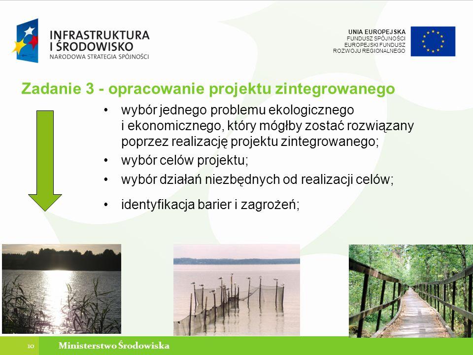 Zadanie 3 - opracowanie projektu zintegrowanego