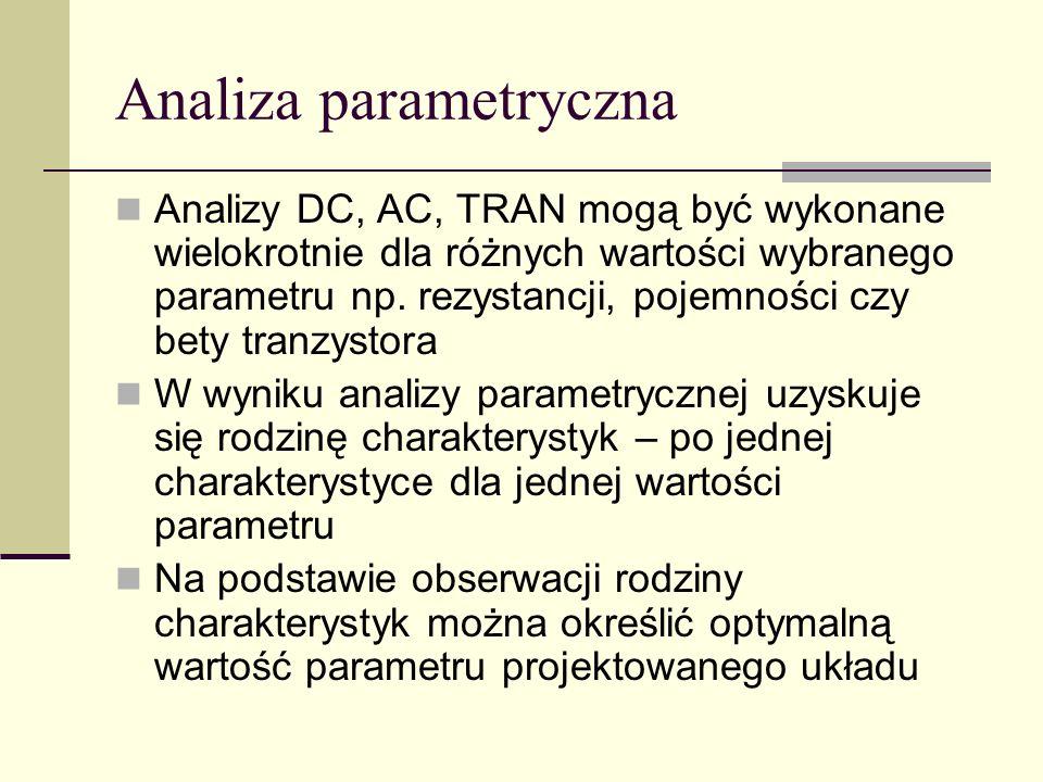 Analiza parametryczna