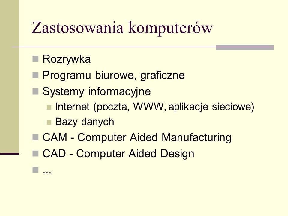 Zastosowania komputerów