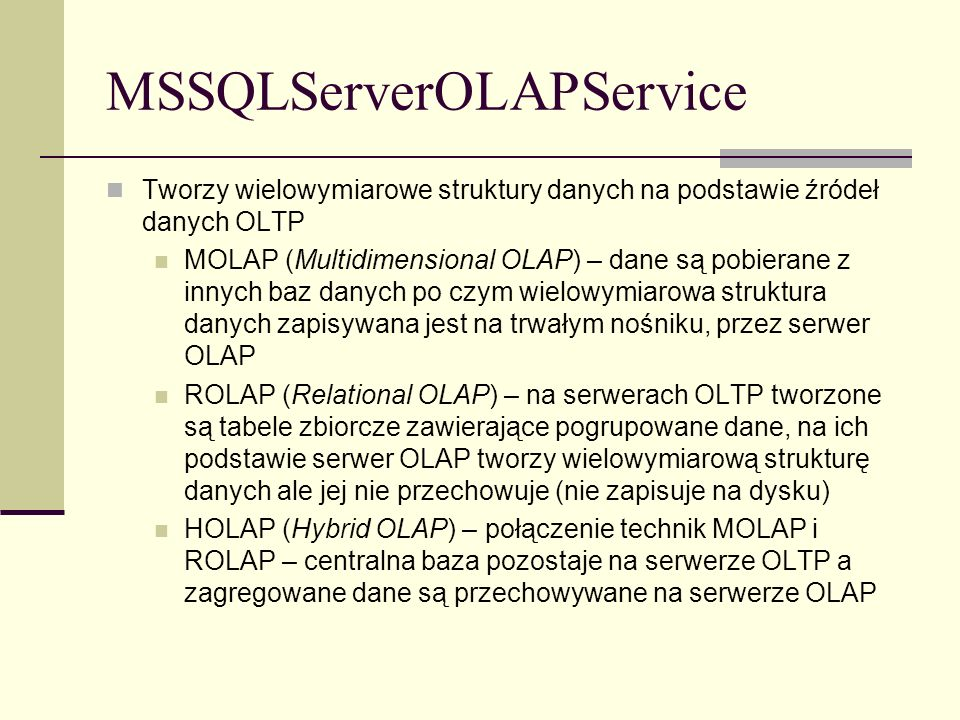 MSSQLServerOLAPService
