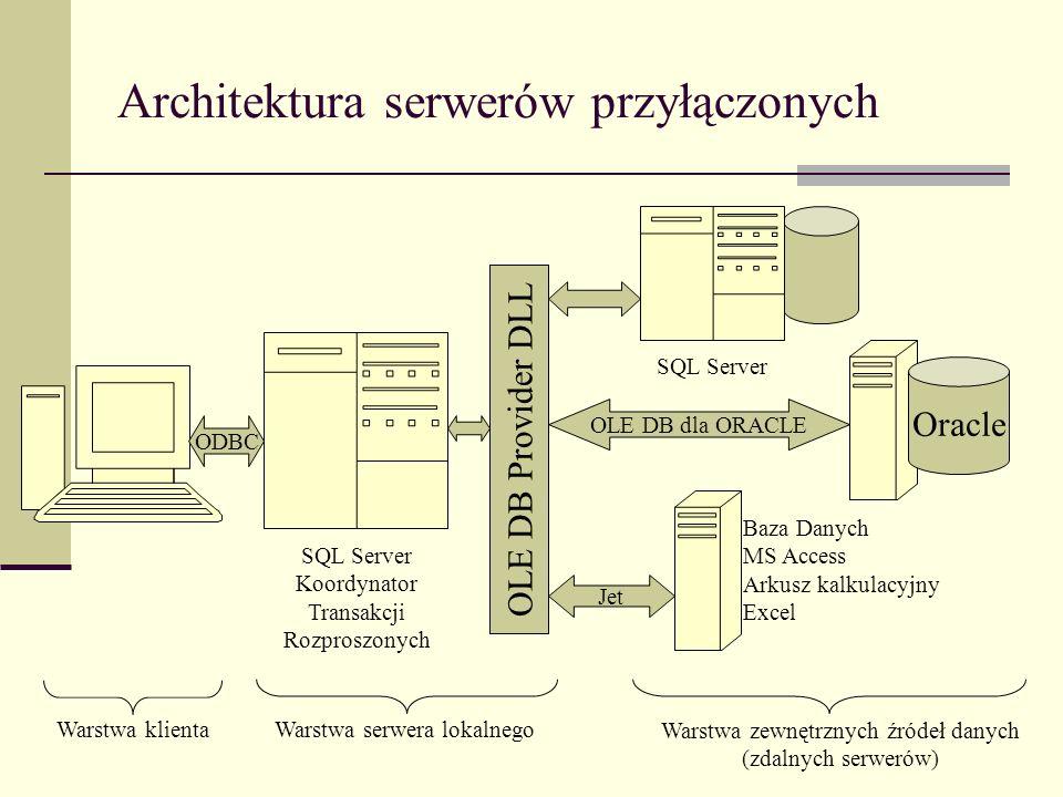 Architektura serwerów przyłączonych