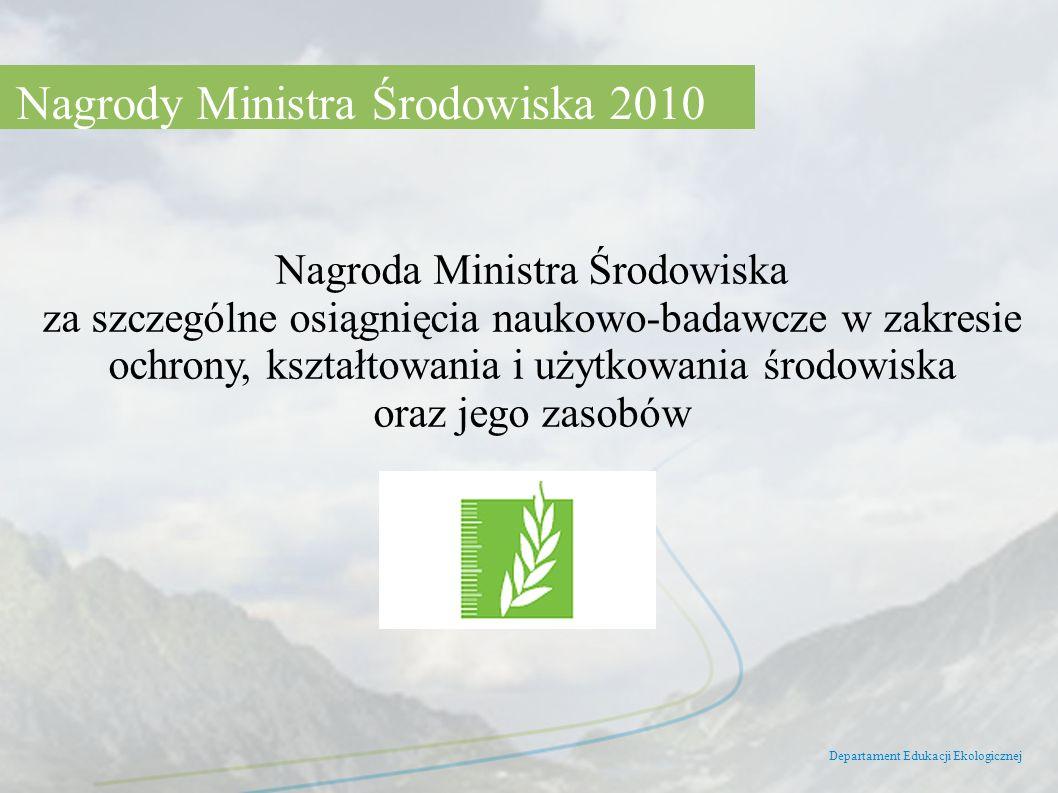 Nagrody Ministra Środowiska 2010