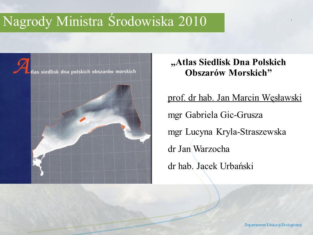 """Atlas Siedlisk Dna Polskich Obszarów Morskich"