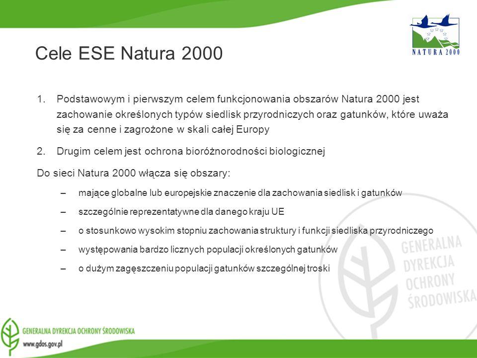 Cele ESE Natura 2000