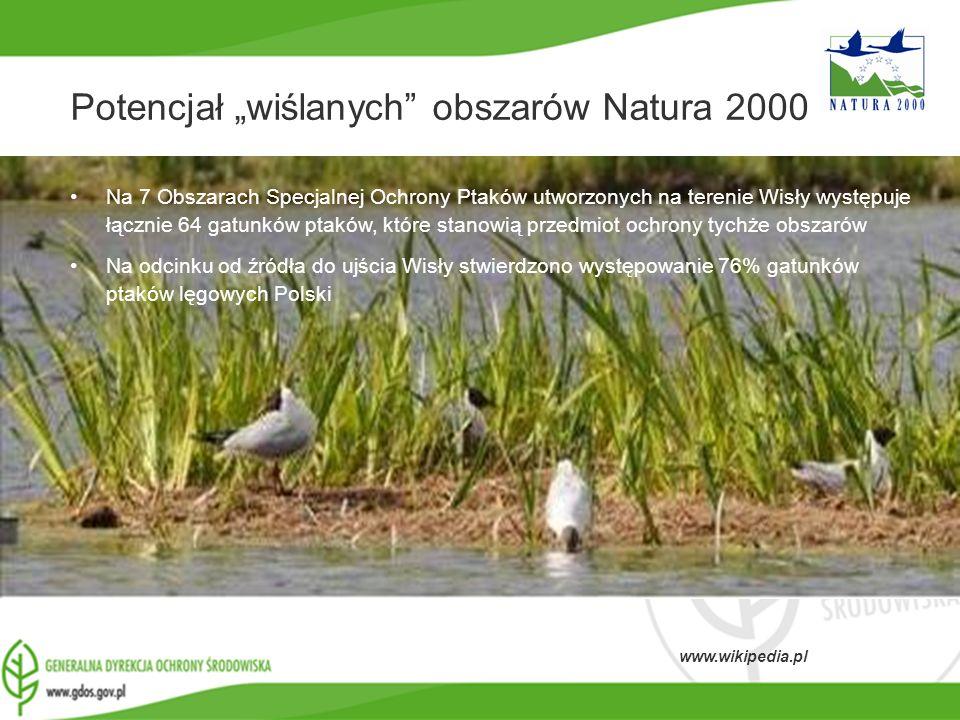 """Potencjał """"wiślanych obszarów Natura 2000"""