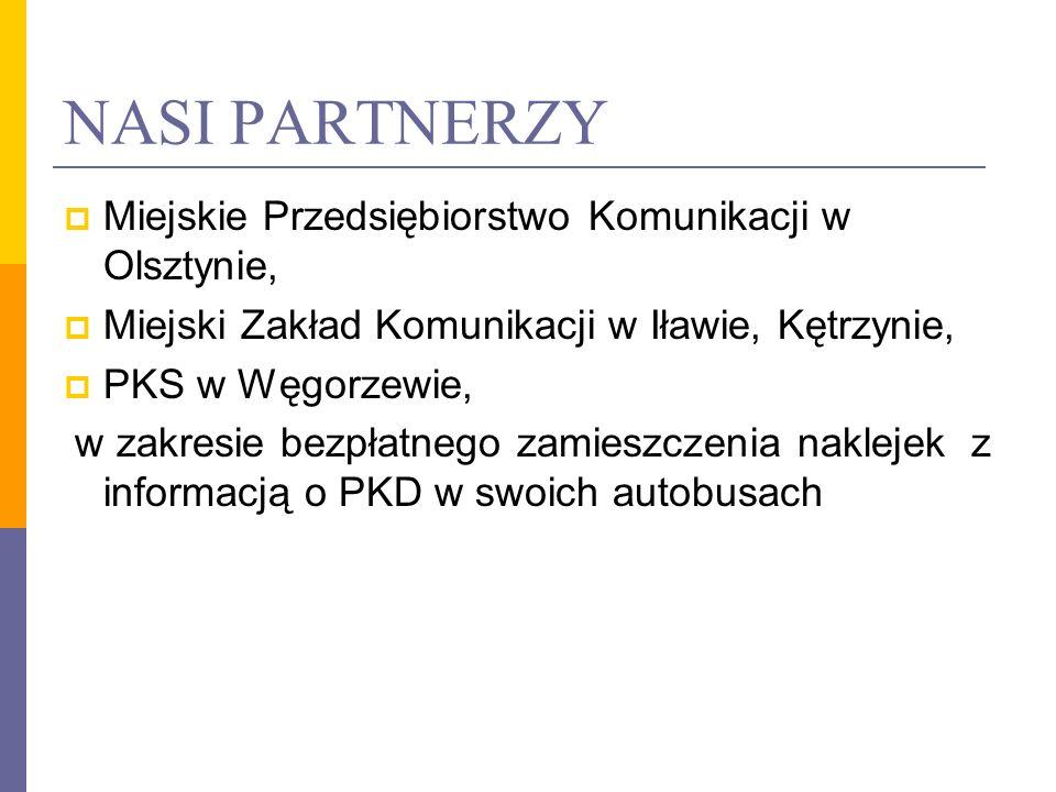 NASI PARTNERZY Miejskie Przedsiębiorstwo Komunikacji w Olsztynie,