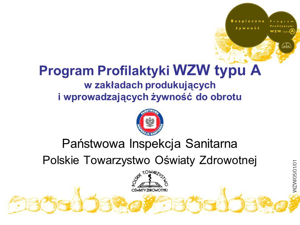 Państwowa Inspekcja Sanitarna Polskie Towarzystwo Oświaty Zdrowotnej
