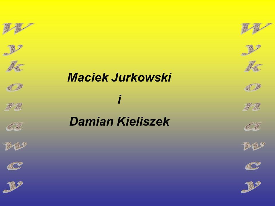 Maciek Jurkowski i Damian Kieliszek Wykonawcy Wykonawcy
