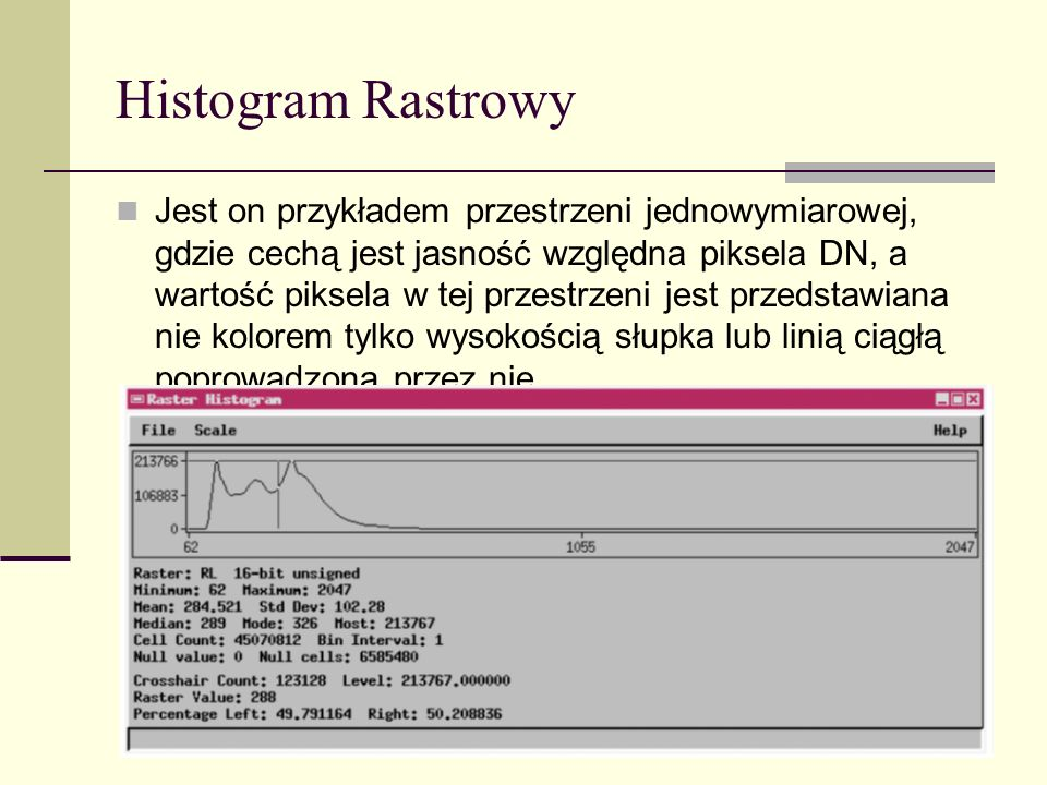 Histogram Rastrowy