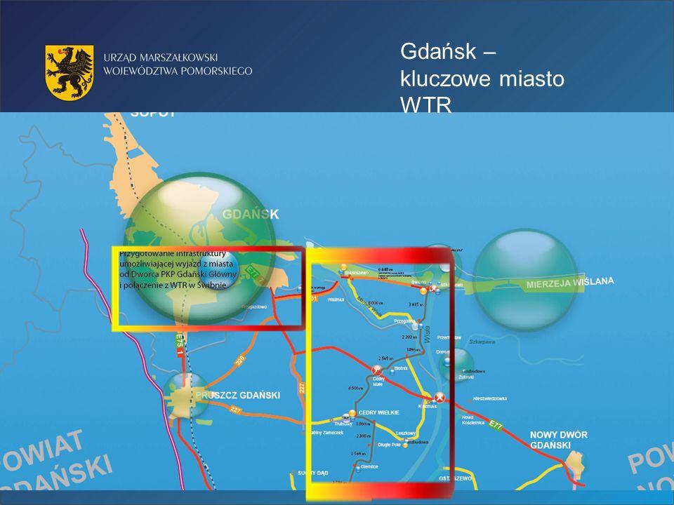 Gdańsk – kluczowe miasto WTR