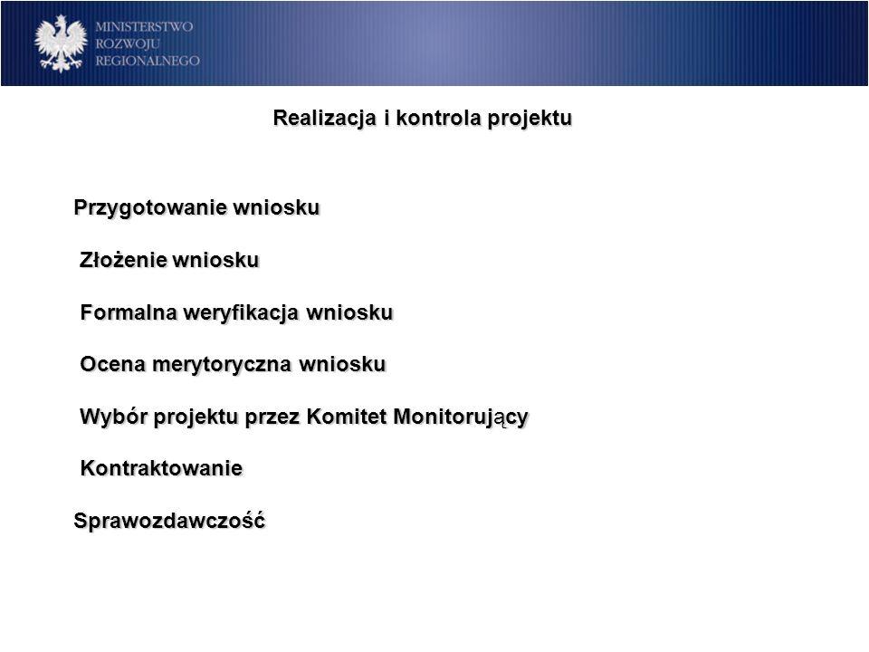 Realizacja i kontrola projektu