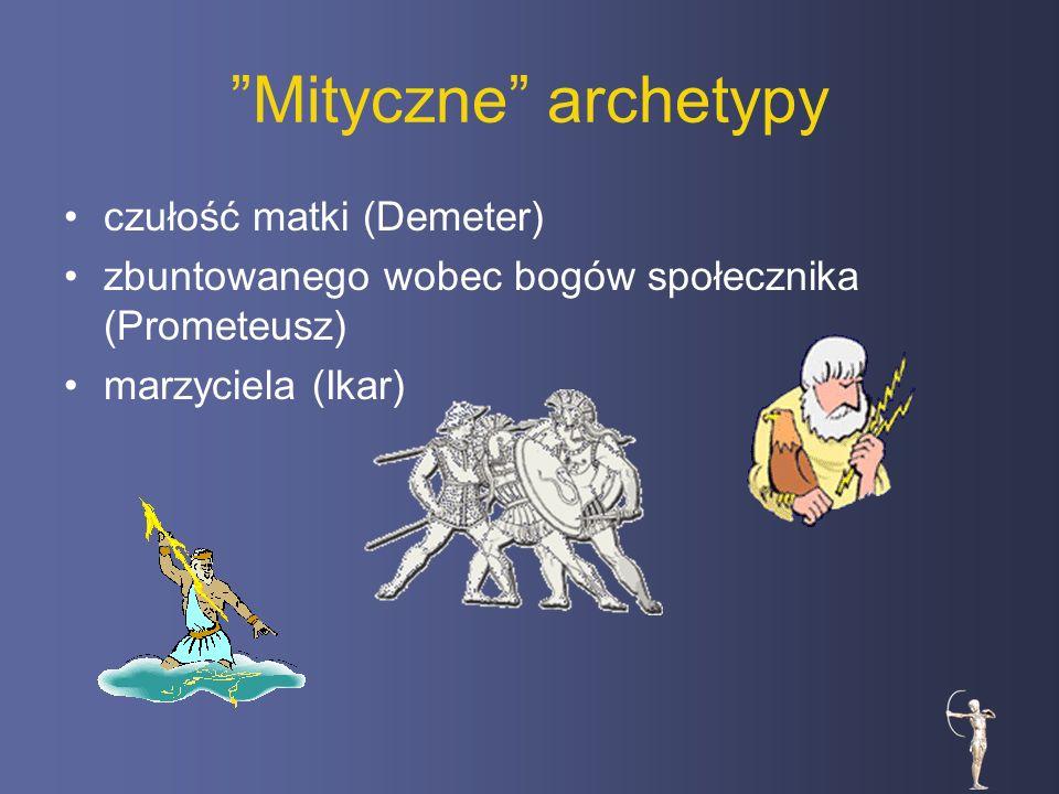 Mityczne archetypy czułość matki (Demeter)